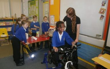 Smoothie Bike Visits Year 3/4