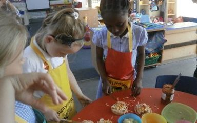 Key Stage 1 cookery club