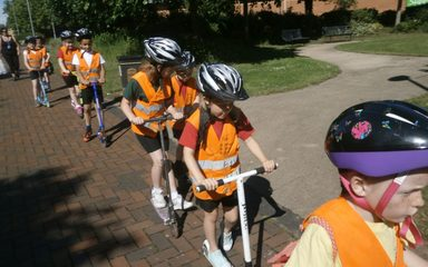 Year 2's great scoot adventure