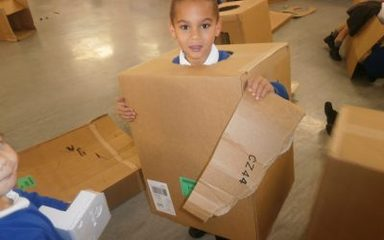 What would you do with a cardboard box?