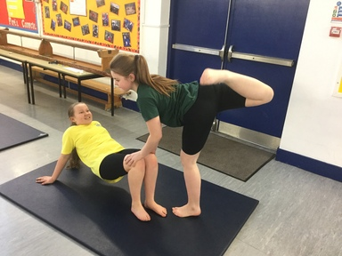 fantastic gymnastics. sycamore class have been using team work and friendships to support them in gymnastics. fantastic gymnastics