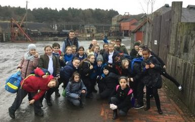 Sycamore Class visit Beamish