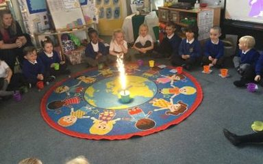 EYFS celebrate bonfire night