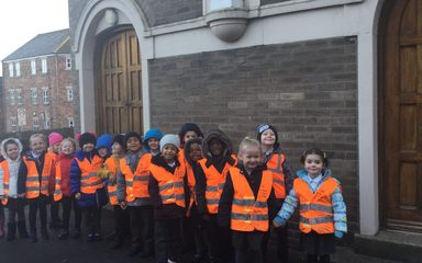 Reception Visit to St Wilfrid's Church