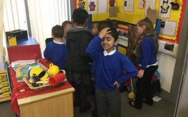 FEE FI FO FUM! What is going on in Oak Class?