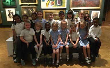 Oak Class visit to Laing Art Gallery