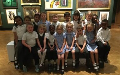 Oak Class visit to Laing Art Gallery