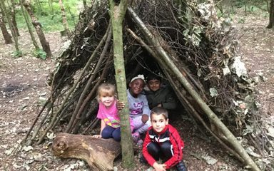 Oak Class at Forest School