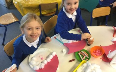 Oak Class Christmas Crafts