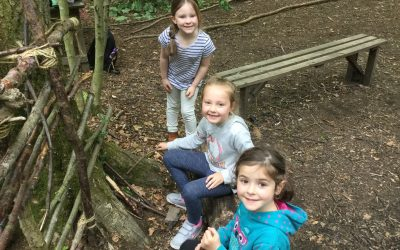 Oak Class had great fun at forest school